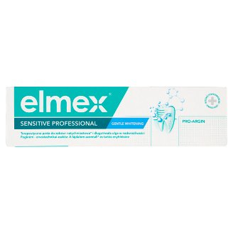 elmex Sensitive Professional Gentle Whitening fogkrém 75 ml