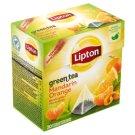 Lipton mandarin-narancs zöld tea 20 piramis filter