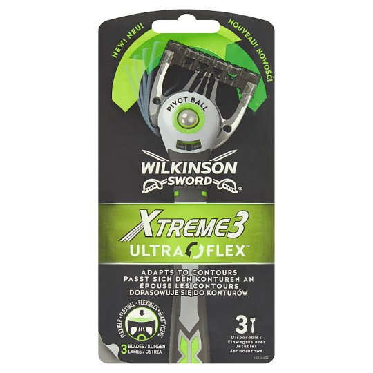 Wilkinson Sword Xtreme3 Ultra Flex Razor 3 pcs