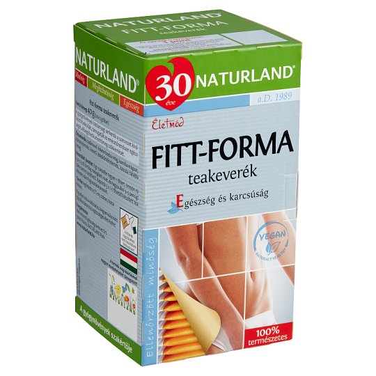 Naturland Életmód Fit-Form Tea Blend 20 Tea Bags 40 g