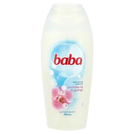 Baba orchidea tej és gyöngy kényeztető tusfürdő 400 ml