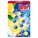Bref Power Aktiv Juicy Lemon WC-frissítő 4 x 50 g
