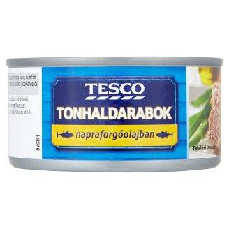 Tesco Tuna Pieces in Sunflower Oil 185 g