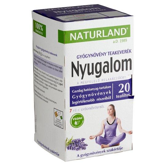Naturland Herbal Calmness Tea Blend 20 Tea Bags 30 g