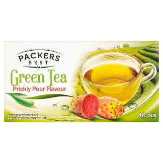 Packers Best fügekaktusz ízesítésű zöld tea 40 filter 70 g