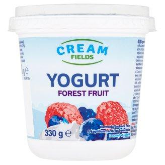 Cream Fields zsírszegény, élőflórás, erdei gyümölcs ízű joghurt 330 g