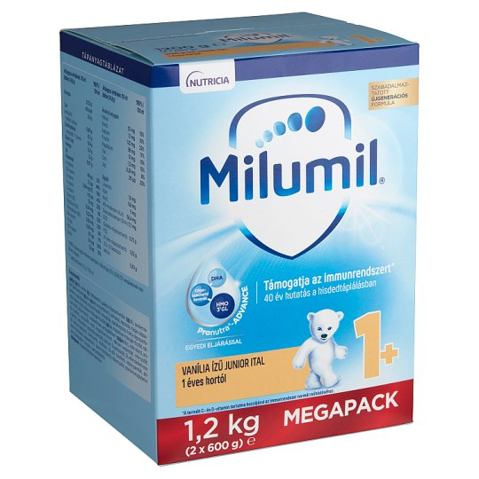 Milumil Junior 1+ Vanilla Flavoured Kids Drink 1+ Years 1,2 kg