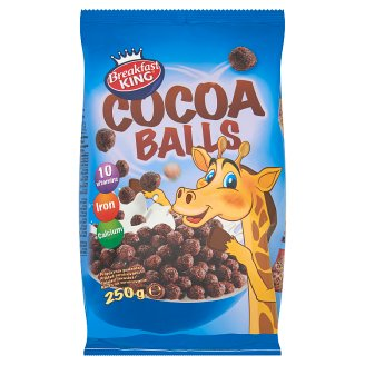 Breakfast King Cocoa Balls with Added Vitamins and Minerals 250 g