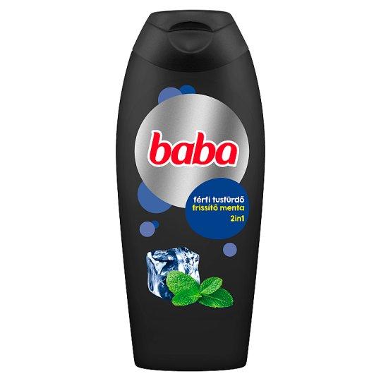Baba menta férfi tusfürdő 400 ml