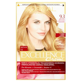 L'Oréal Paris Excellence Crème 9.3 Very Light Golden Blond Permanent Hair Colorant