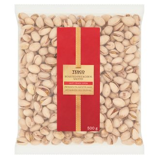 Tesco Salted Roasted Pistachios 500 g