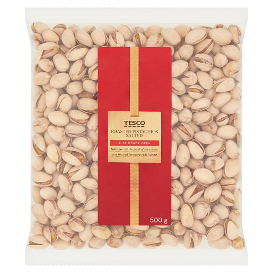 Tesco Roasted Salted Pistachios 500 g