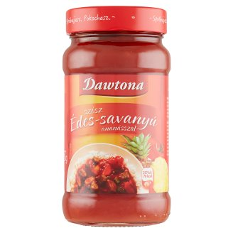 Dawtona Sweet & Sour Sauce with Pineapple 425 g + 125 g