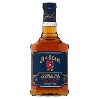 Jim Beam Double Oak Bourbon whiskey 43% 0,7 l