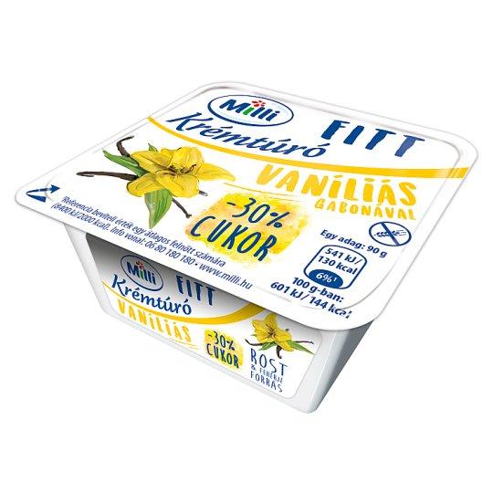 Milli Fitt Vanilla-Grain Cream Cottage Cheese 90 g
