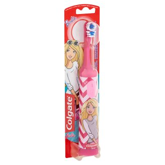 Colgate Barbie Battery-Powered Toothbrush