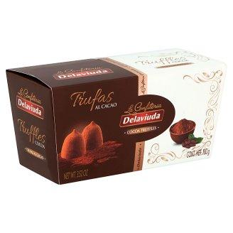 Delaviuda Cocoa Truffles 100 g