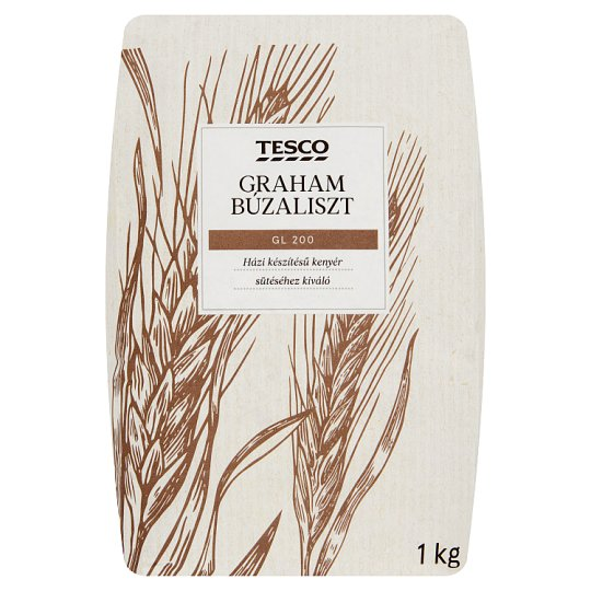Tesco Graham Wheat Flour GL 200 1 kg - Tesco Groceries 718abb88de