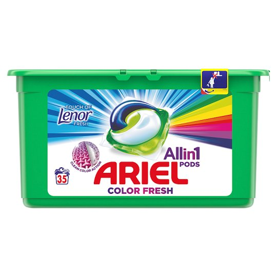 Ariel Touch Of Lenor Fresh 3az1-ben Mosókapszula, 35 Mosáshoz