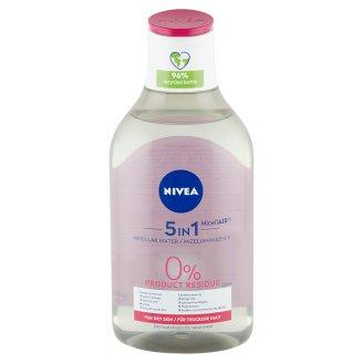 NIVEA MicellAIR ápoló micellás víz száraz és érzékeny bőrre 400 ml