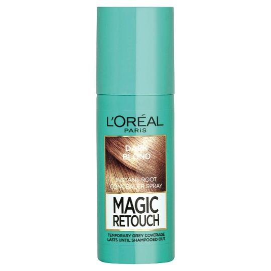 L'Oréal Paris Magic Retouch Sötétszőke azonnali hajtőszínező spray 75 ml