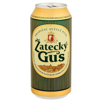 Žatecký Gus világos sör 4,6% 900 ml
