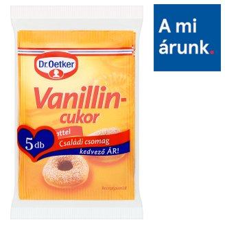 Dr. Oetker Vanillincukor családi csomag 5 x 10 g