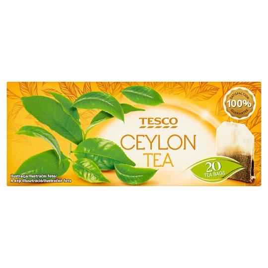 Tesco Ceylon filteres fekete tea 20 filter 40 g