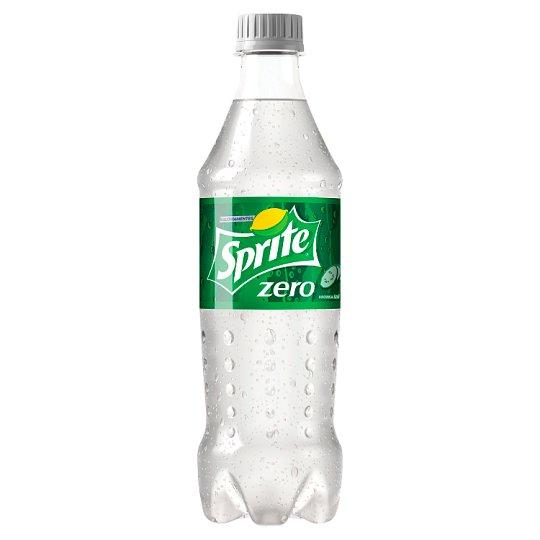 Sprite Zero citrom és uborka ízű energiamentes szénsavas üdítőital édesítőszerekkel 500 ml