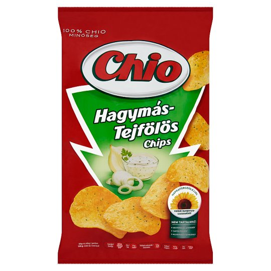 Chio Potato Chips with Sour Cream and Onion Flavour 150 g