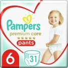 Pampers Premium Care Pants, Size 6, 31 Nappies