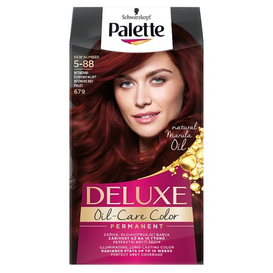 Schwarzkopf Palette Deluxe Intense Cream Hair Colorant 679 Intense Red Violet