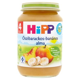HiPP Gluten- and Dairy-Free Apple with Peach and Banana Baby Dessert 4+ Months 190 g
