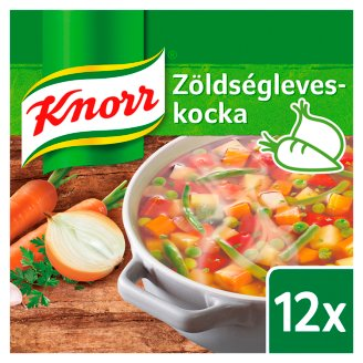Knorr Vegetable Soup Cube 12 pcs 120 g