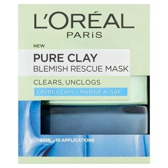 L'Oréal Paris Pure Clay Blemish Rescue Mask 50 ml