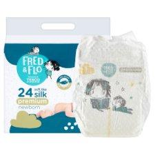 image 2 of Fred & Flo Premium Newborn 1 New Baby 2-5 kg Nappies 24 pcs