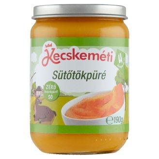 Kecskeméti Gluten- and Dairy-Free Pumpkin Puree Baby Food 4+ Months 190 g