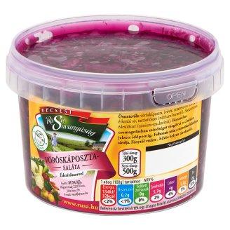 Rusa Savanyúság vöröskáposzta saláta édesítőszerrel 500 g