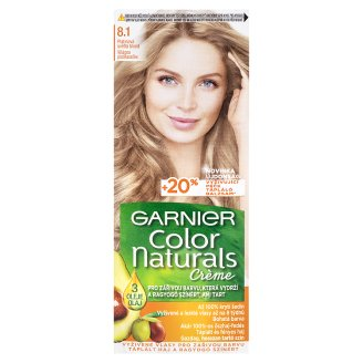 image 1 of Garnier Color Naturals Crème 8.1 Bright Platinum Blonde Nourishing Permanent Hair Colorant