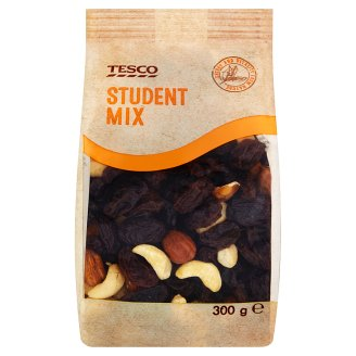 Tesco Student Mix Raisins, Cashew, Peanut and Almond Mix 300 g
