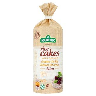 Kupiec Slim Gluten-Free Rice Cakes with Sesame 90 g