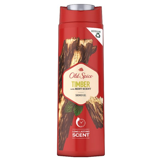 Old Spice Timber with Mint Shower Gel For Men 400 Ml