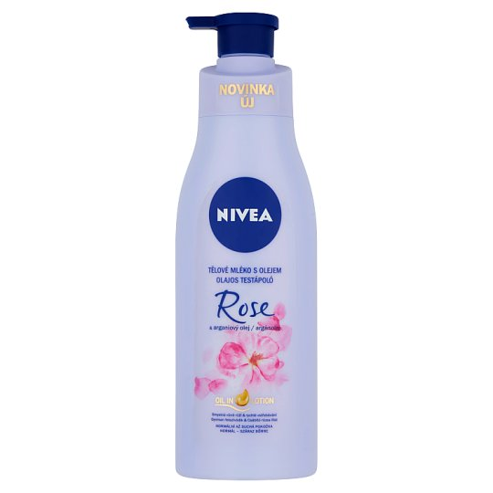 NIVEA Rose & Argan Oil Moisturizer 200 ml
