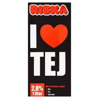Riska I Love UHT Milk 2,8% 1 l