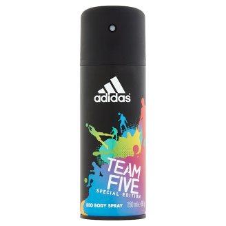 adidas Team Five Deodorant Body Spray for Men 150 ml