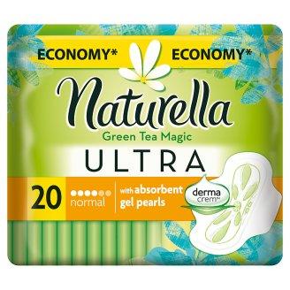 Naturella Ultra Normal Green Tea Magic Sanitary Towels x20
