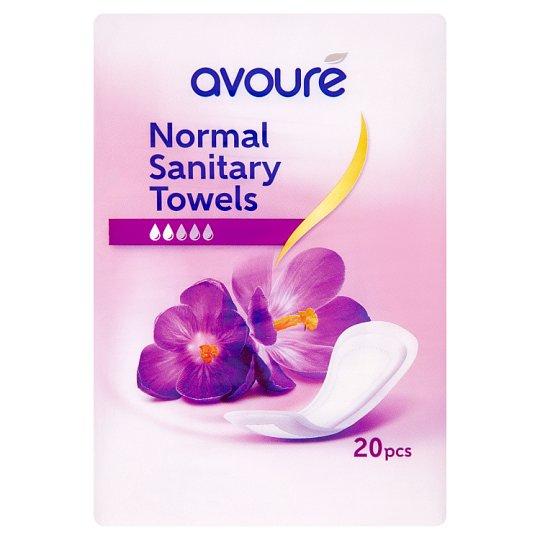 Avouré Maxi Normal Sanitary Towels 20 pcs