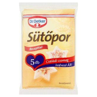 Dr. Oetker Sütőpor családi csomag 5 x 12 g