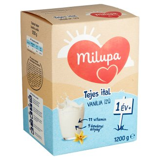 Milupa Junior 1 vanília ízű gyerekital 12 hó+ 1200 g
