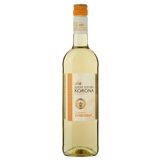 Szent István Korona Dunántúli Chardonnay száraz fehérbor 12% 0,75 l